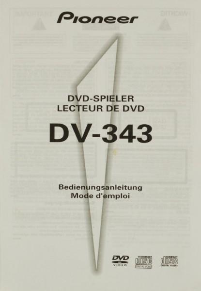 Pioneer DV-343 Bedienungsanleitung
