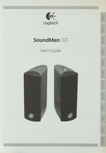 Logitech SoundMan G 1 Bedienungsanleitung