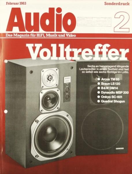 Verschiedene Volltreffer - Arcus, Braun, B&W, etc. Testnachdruck