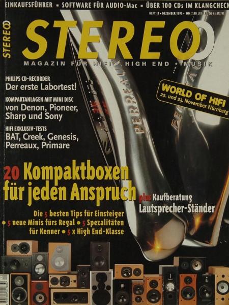 Stereo 12/1997 Zeitschrift
