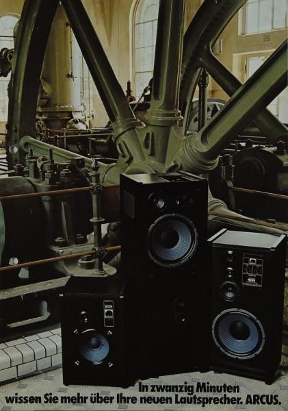 Arcus TM Serie ( 30 / 50 / 70 / 90 / 150 / 1000/II ) Prospekt / Katalog