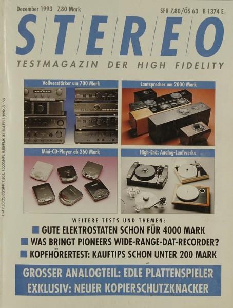 Stereo 12/1993 Zeitschrift