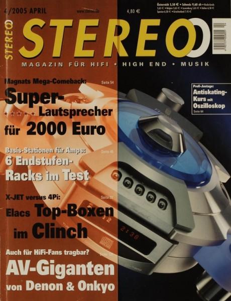 Stereo 4/2005 Zeitschrift