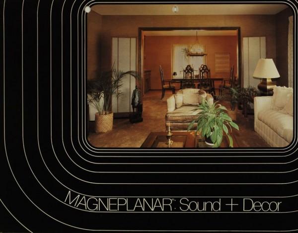 Magnepan Magneplanar: Sound + Decor / MG-II B Prospekt / Katalog