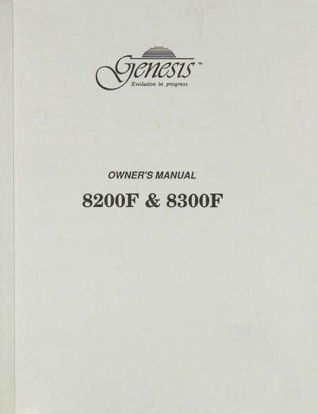 Genesis 8200 F/ 8300 F Bedienungsanleitung