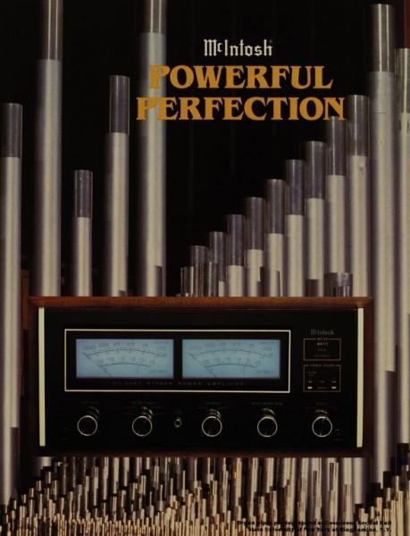 McIntosh Powerful Perfection - MC 2255 / 2250 / 2155 / 2150 Prospekt / Katalog