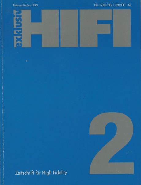 Hifi Exklusiv 2 / 1993 Zeitschrift