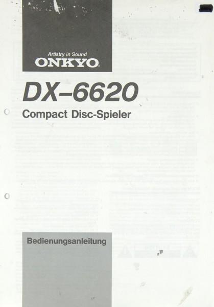 Onkyo DX-6620 Bedienungsanleitung