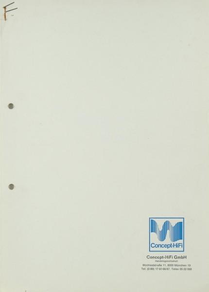 McIntosh C 29 Bedienungsanleitung