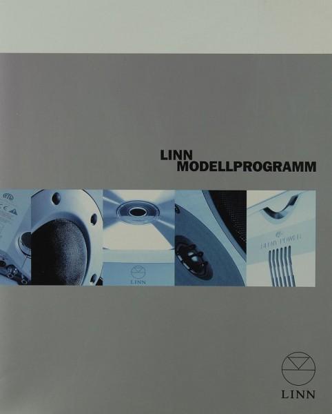 Linn Modellprogramm (2002) Prospekt / Katalog