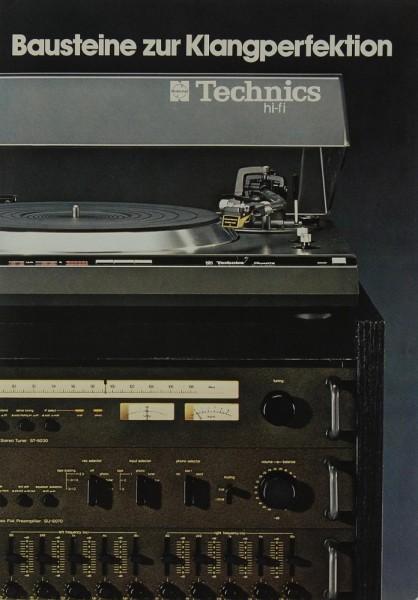 Technics Bausteine zur Klangperfektion Prospekt / Katalog