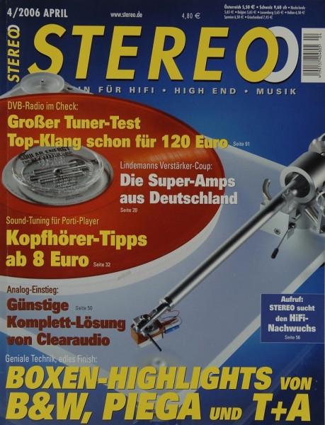 Stereo 4/2006 Zeitschrift