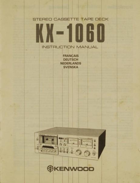 Kenwood KX-1060 Bedienungsanleitung