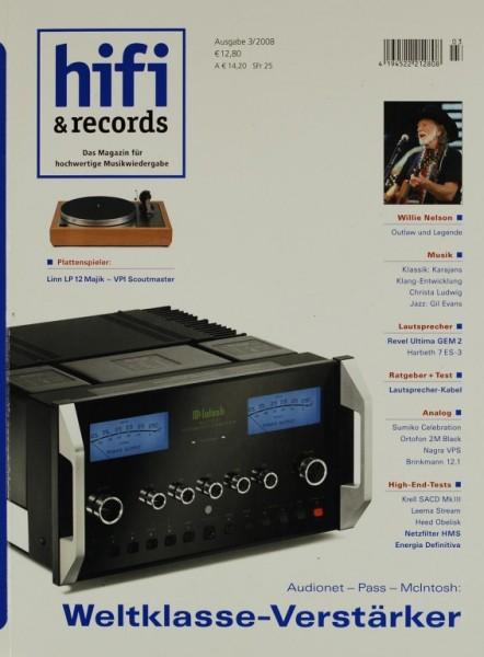 Hifi & Records 3/2008 Zeitschrift