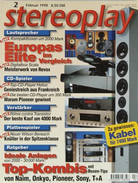 Stereoplay 2/1998 Zeitschrift