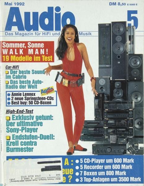 Audio 5/1992 Zeitschrift
