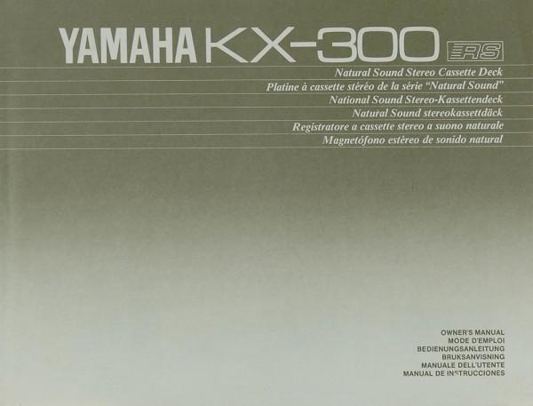 Yamaha KX-300 Bedienungsanleitung