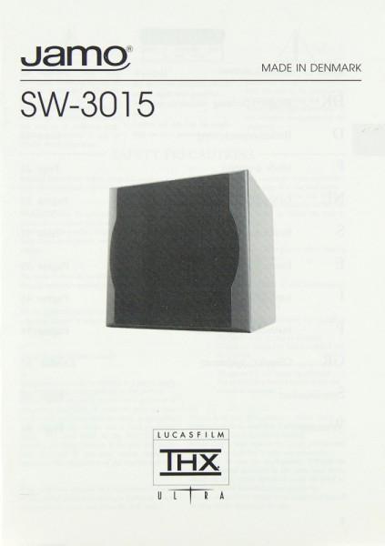 Jamo SW-3015 Bedienungsanleitung
