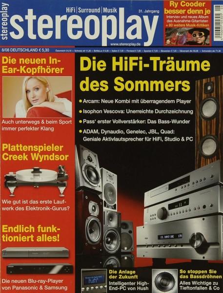 Stereoplay 8/2008 Zeitschrift