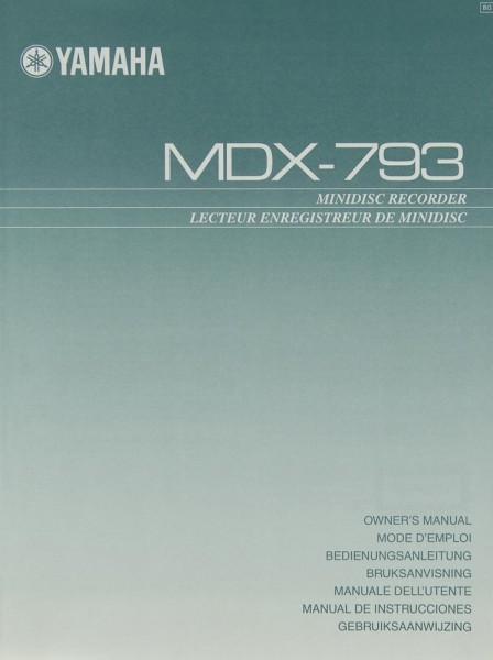 Yamaha MDX-793 Bedienungsanleitung