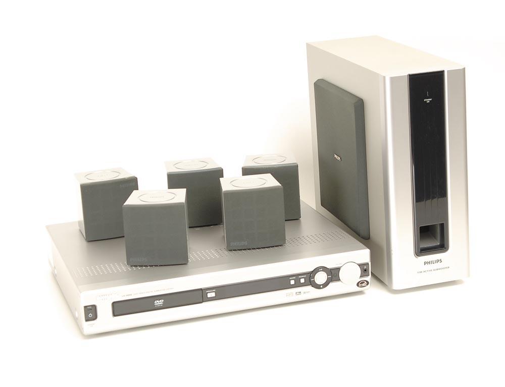 philips lx 3000 d dvd anlage mit ls mit lautsprechern. Black Bedroom Furniture Sets. Home Design Ideas
