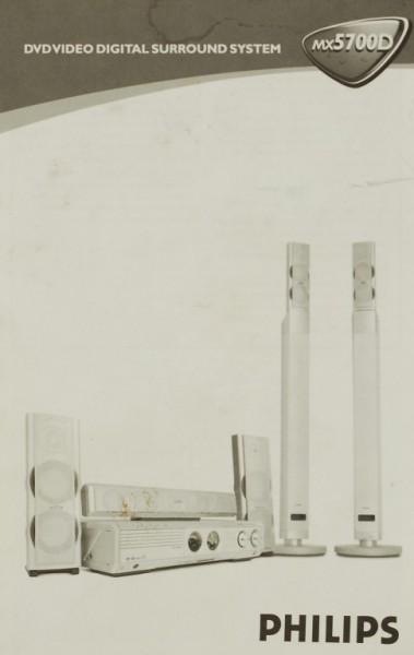 Philips MX 5700 D Bedienungsanleitung