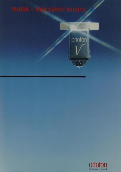 Ortofon Virtus / Virgo / Musik - und sonst nichts. Prospekt / Katalog