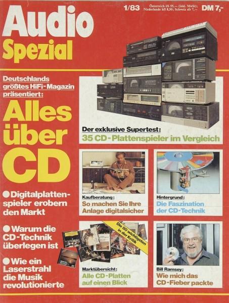 Audio Spezial 1/1983 Zeitschrift