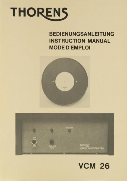 Thorens VCM 26 Bedienungsanleitung