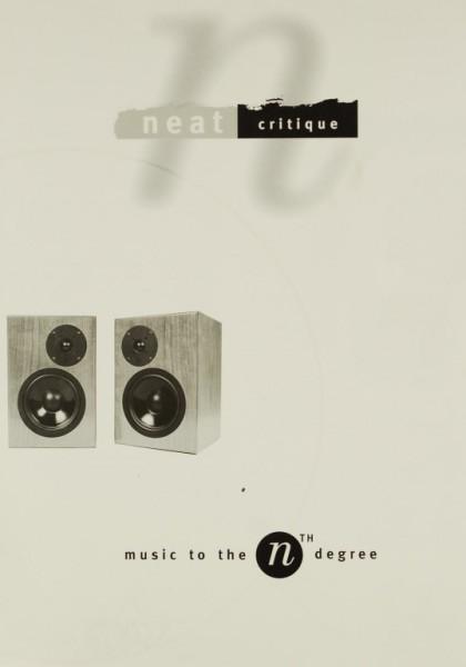 Neat Critique Prospekt / Katalog