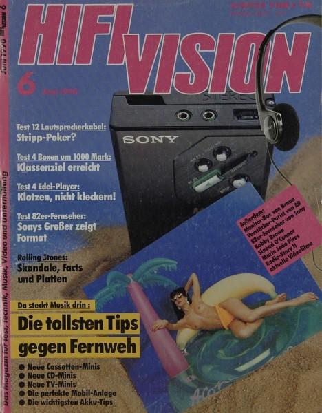 Hifi Vision 6/1990 Zeitschrift