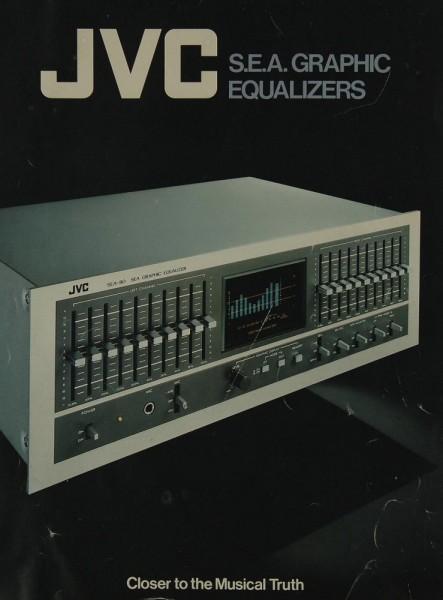 JVC S.E.A. Graphic Equalizers Prospekt / Katalog
