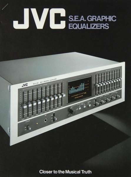 JVC SEA-80 / SEA-7070 / SEA-50 / SEA-20 GL Prospekt / Katalog