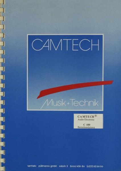 Camtech C 100 Bedienungsanleitung