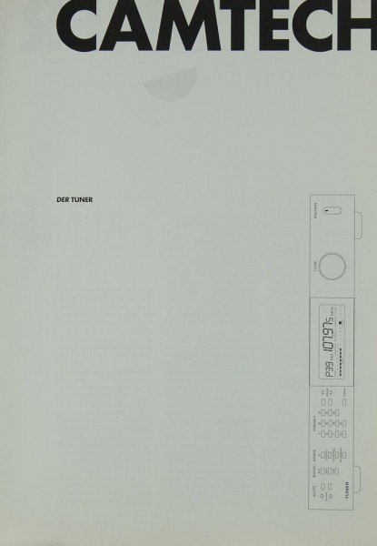 Camtech Tuner Prospekt / Katalog