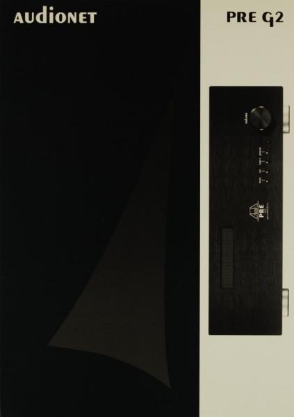 Audionet PRE G 2 Prospekt / Katalog