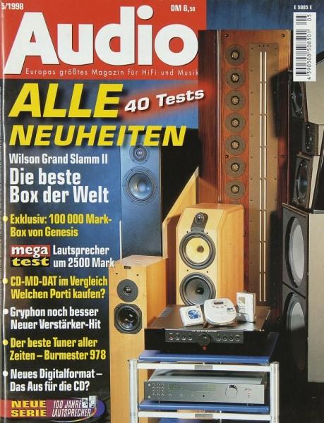 Audio 5/1998 Zeitschrift