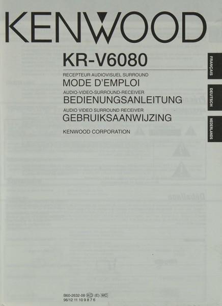 Kenwood KR-V 6080 Bedienungsanleitung