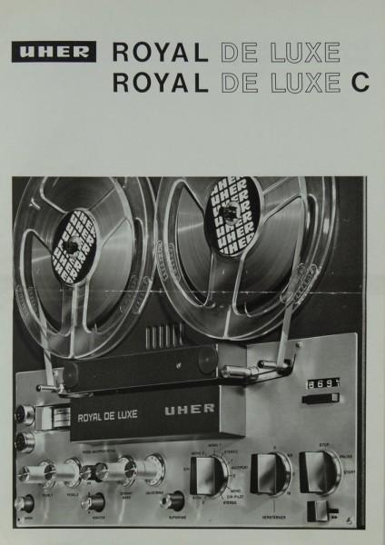 Uher Royal de Luxe © Prospekt / Katalog