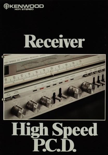 Kenwood High Speed P.C.D. Prospekt / Katalog