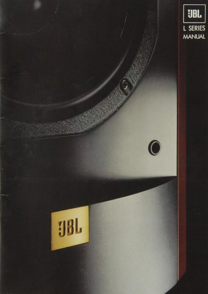 JBL L Serie Bedienungsanleitung