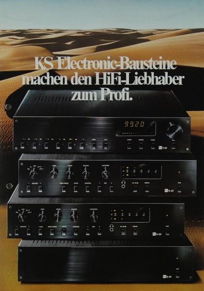 KS KS Electronic-Bausteine (T-21, V-51, V-31, E-41) Prospekt / Katalog