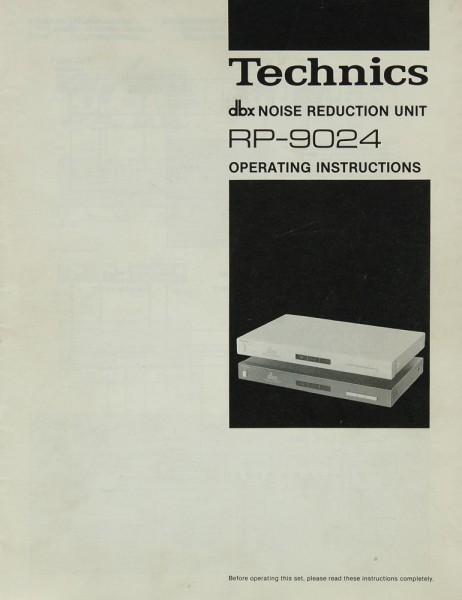 Technics RP-9024 Bedienungsanleitung