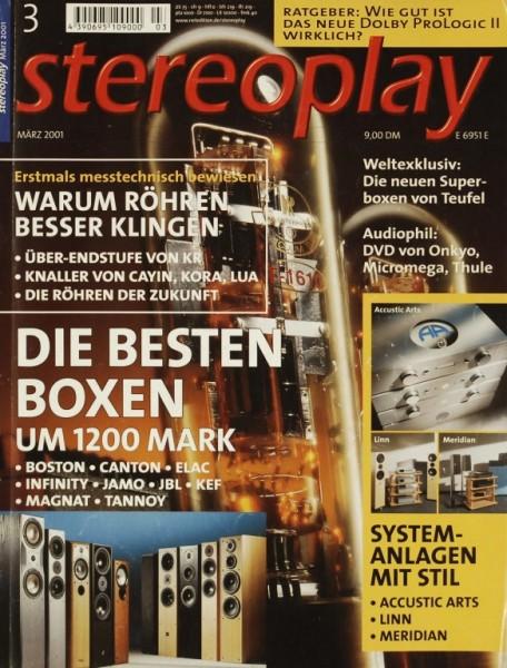 Stereoplay 3/2001 Zeitschrift