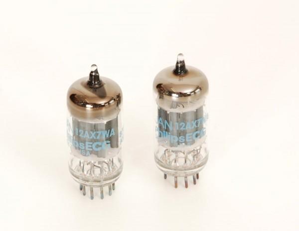 Philips ECG 12AX7WA Paar