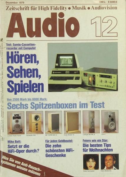 Audio 12/1979 Zeitschrift