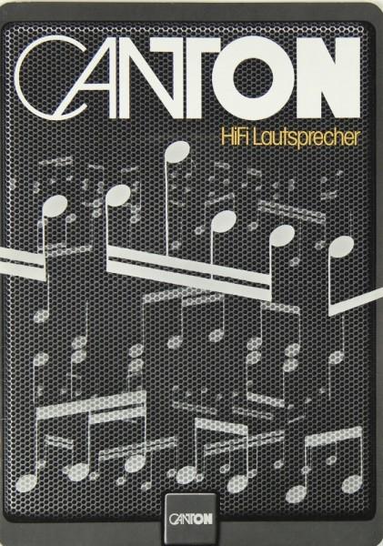 Canton Gesamtübersicht 1981 Prospekt / Katalog
