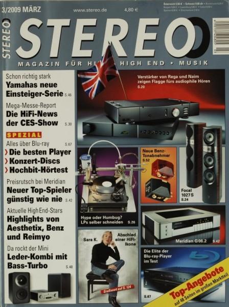 Stereo 3/2009 Zeitschrift