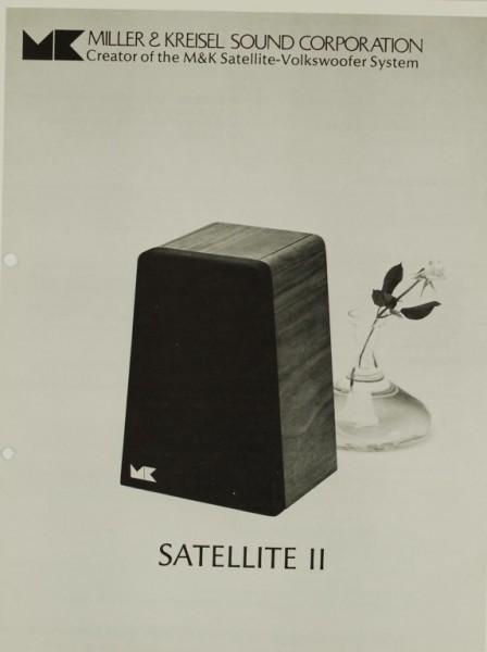 M&K Satellite II Prospekt / Katalog