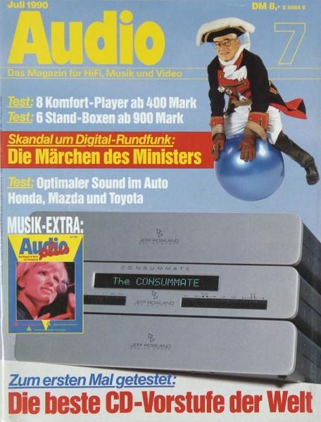 Audio 7/1990 Zeitschrift
